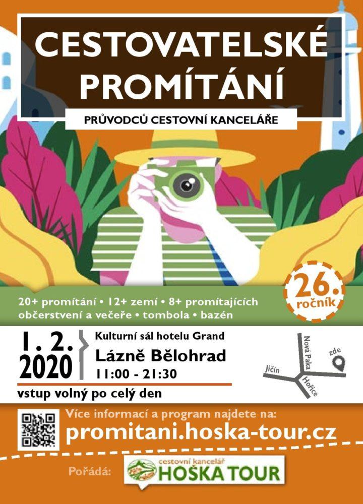 plakát cestovatelské promítání 2020